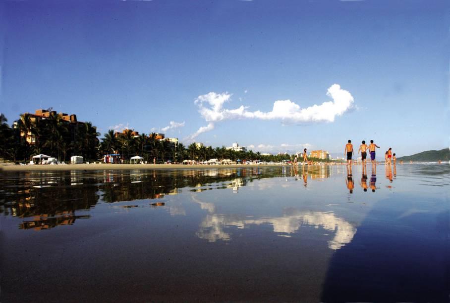 Praia do Bairro na Riviera de São Lourenço