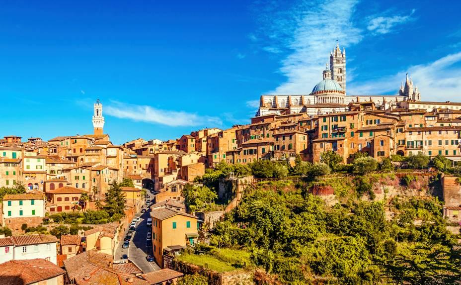 O horizonte de Siena