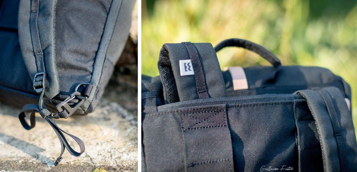 Revisão da avaliação da mochila Mini Squamish MeroMero Rool-Top