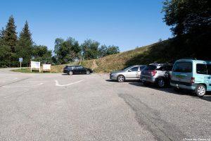 Estacionamento Val Pelouse - início da caminhada para Grands Moulins, Belledonne