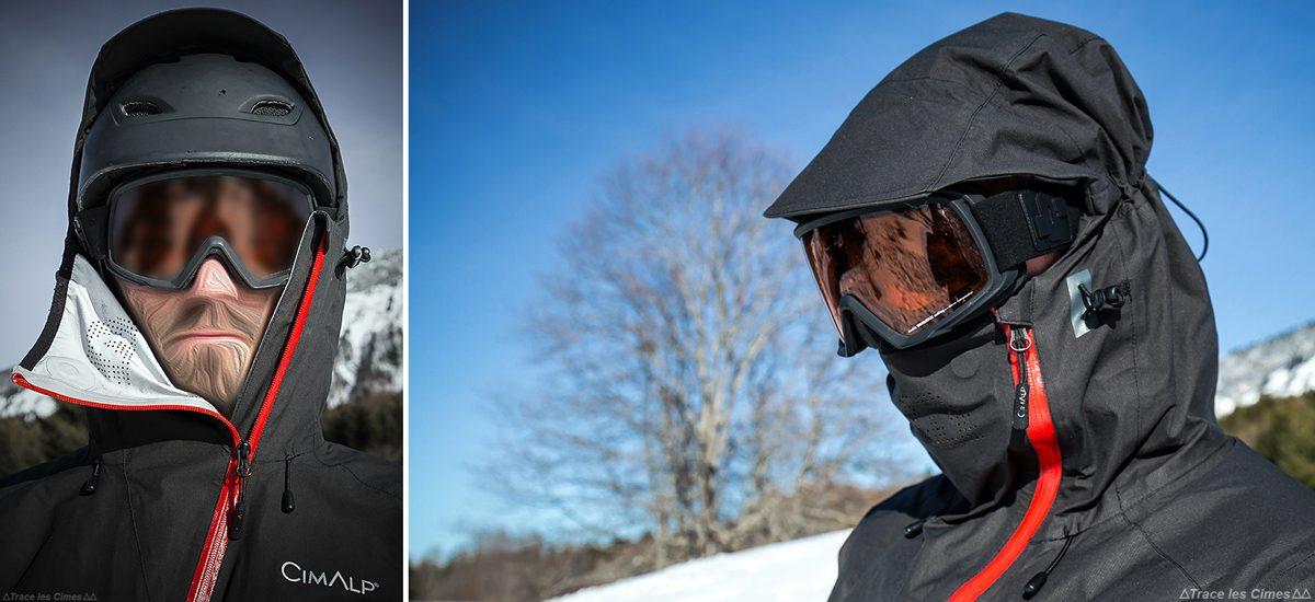 Hood CimAlp Advanced Ultrashell Jacket - Teste de equipamento de montanha ao ar livre