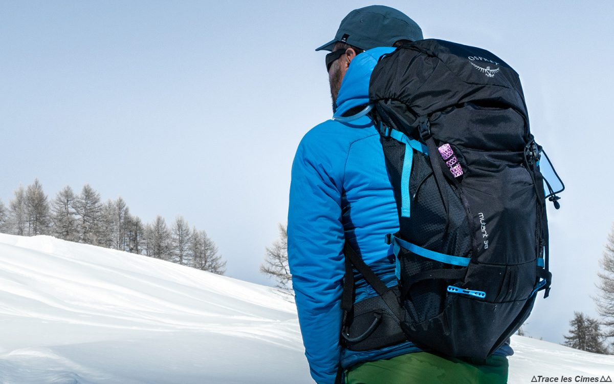 Tente a classificação da mochila de esqui de turismo Osprey Mutant 38 Mountaineer Backpack