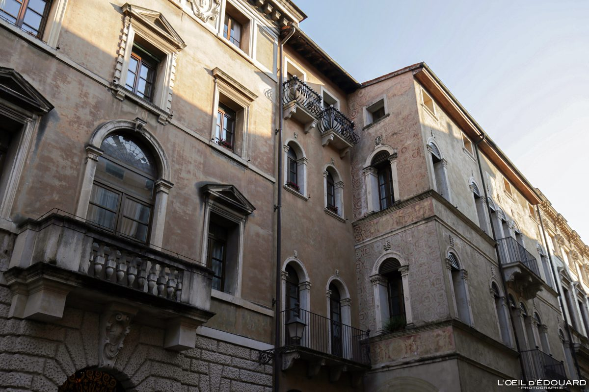 Vicenza Itália Edifício Vêneto - Corso Andrea Palladio Vicenza Itália Vêneto Itália vista da cidade