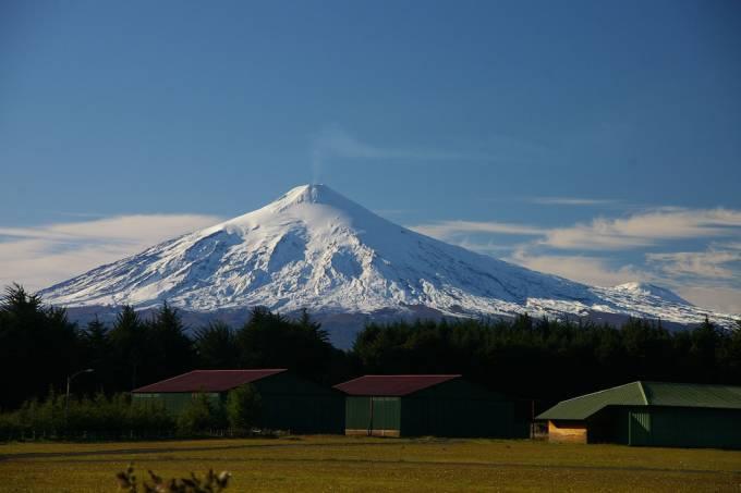 Vulcão Villarrica, Chile