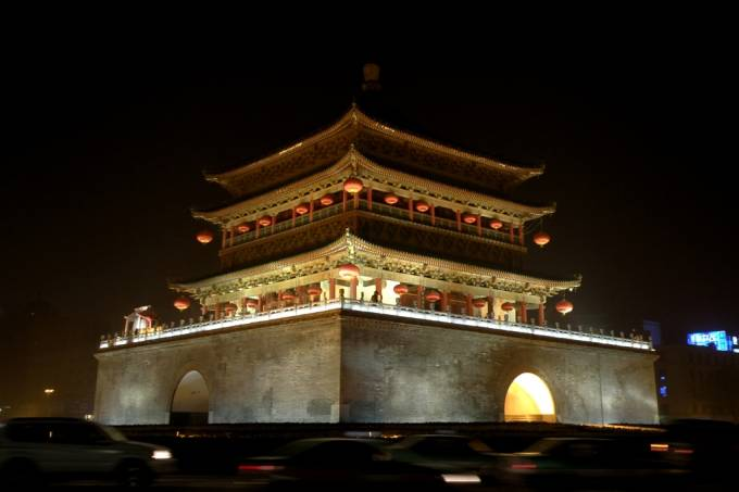 Torre do Tambor, Xi'an, China