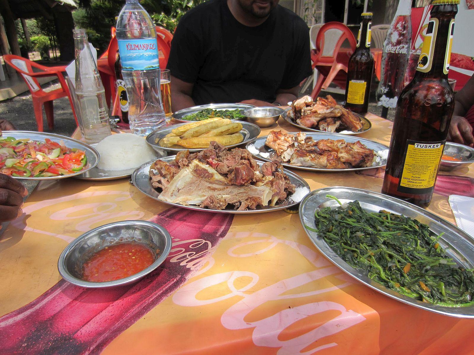 O onibus para Mwanza