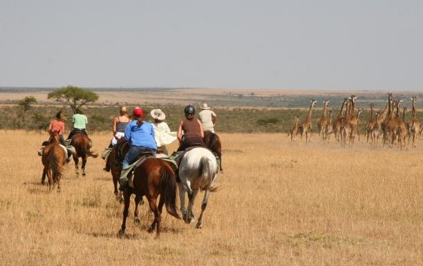 Passeios a cavalo no Masai Mara