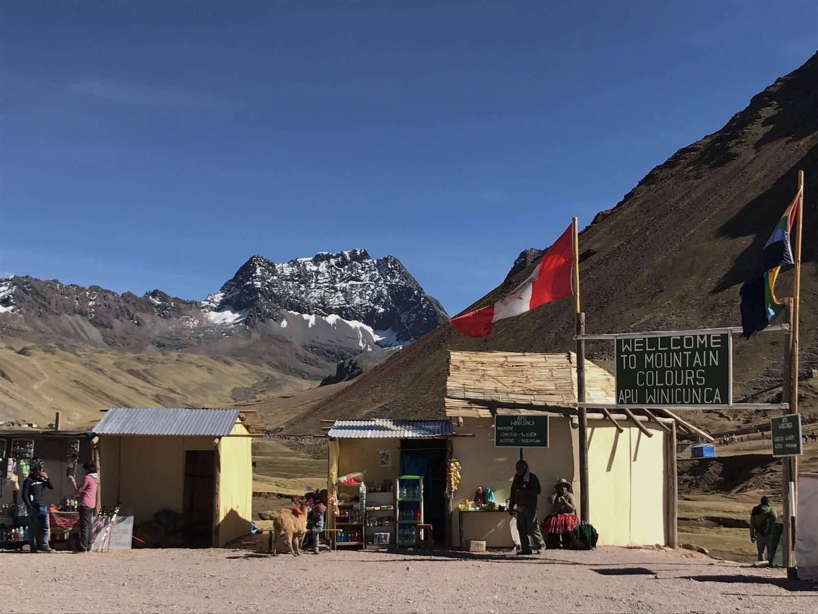 Rainbow Mountain e a missao Ausangate