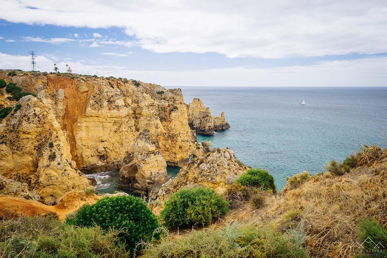 Locais a visitar no Algarve - Ponta da Piedade