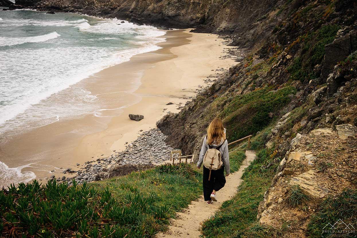 Praia da Amália na costa alentejana
