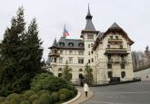 The Dolder Grand Hotel no topo de Zurique