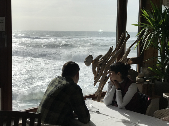 Restaurante da piscina - Azenhas do Mar